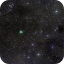 comet c/2016 M1 in an ocean full of stars in Centaurus near ngc 5715 and ngc 5662,                    andrealuna