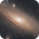 M31 - Galaxie d'Andromède RVB,                                Anto