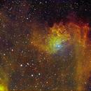 IC 405 Flaming Star Nebula in Auriga,                    Francois Theriault