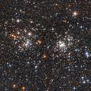 Double Star Cluster,                                Emanuele La Barbera