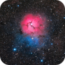 Trifid Nebula,                                Peter