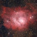 "M8, nebulosa ""Laguna"",                                Giuseppe Nicosia"