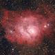 "M8, nebulosa ""Laguna"",                                  giusnico"