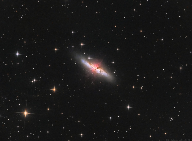M82 with ha,                                Le Mouellic Guill...