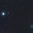 M 53 et NGC 5053,                                Peronnaud julien