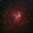 NGC 1491, emission nebula in Perseus,                                Roberto Marinoni