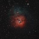 M20 the Trifid Nebulae,                                Oscar Meca