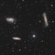 Lion triplet M65 M66 NGC3628,                                Vincent F
