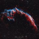 NGC 6992 - Eastern Veil Nebula HOO,                                FedericoDS