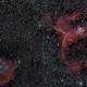 Ic1805 & 1848 mosaic (Heart and Soul nebula),                                *philippe Gilberton