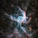 Blown up by a massive star, NGC2359,                                Benoit Blanco