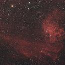 IC 405 - The Flaming Star Nebula,                                cclark