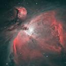 Orion nebula (M42),                                astrocusanus
