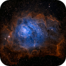 Lagoon Nebula in OIII and SII,                                Kevin Morefield