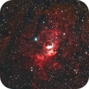 Bubble Nebula (Celestron RASA V2 wih QHY168C and Optolong L-eNhance filter),                                Pyrasanth