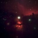 Flame and Horsehead Nebulas,                                Chris Morisette