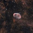 Crescent Nebula,                                Beaner Franks