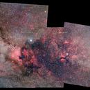 2016 mosaic Cygnus 2015 with Zenit Jupiter 11-A 135mmf4 lens + 550D,                                Rocco Parisi