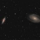 M 81 & M 82 - Bode's Galaxy & The Cigar Galaxy,                                Marius Bednar