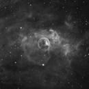 Bubble in HA - NGC7635,                                Martin Dufour