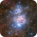 The Great Orion Nebula surrounded by stardust - Messier 42,                                Markus Bauer