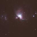 Orion Nebula First good guiding,                                astrodamo