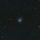 M101 - little steps,                                SQLAstro
