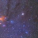 Rho Ophiuchi Nebula Wide Field,                                Seldom