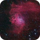 IC405, Flaming Star nebula, HaRGB,                                Mike Carroll