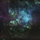 Tarantula Nebula - Hubble Palette,                                Pablo Munayco Solorzano