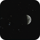 Moon in Hyades,                                mikefulb