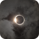 2017 Eclipse - Diamond Ring and Clouds,                                Nico Carver