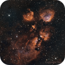 NGC 6334 - SHO + BICOLOR,                                Gerson Pinto
