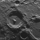 Close up view of Arzachel crater,                                Conrado Serodio