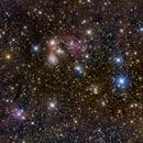 The Angel Nebula - NGC 2182 - One night in Yosemite,                                Michael Lewis