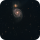 M 51 - NGC 5194,                                GALASSIA 60