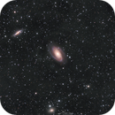 Bode and Cigar Galaxies with slight IFN,                                Paweł Radomski