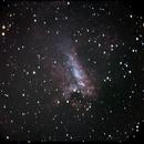 M17 Swan nebula,                                Claudio Costa