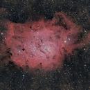 LAGOON NEBULA (M8) COLOR + H alpha,                                JAIME FELIPE RAMIREZ NARVAEZ