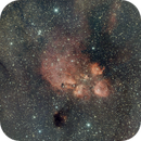 NGC 6334 - Katzenpfotennebel,                                Stefan Benz