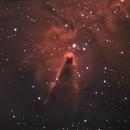 The Cone Nebula,                                John Leader