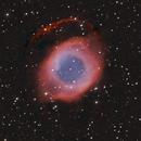 Helix Nebula - NGC-7293 in Aquarius,                                Stargazer66207