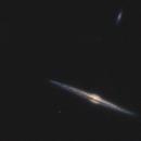 NGC4565 in a starless sky,                                Kees Scherer