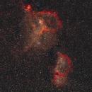 IC1805 - IC1848 - widefield 135mm,                                Almos Balasi