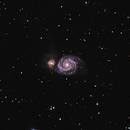 M51 - Whirlpool Galaxy,                                Andrei