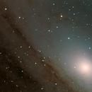 Andromeda Galaxy (central part),                                Cristian Cestaro