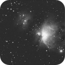 Recovering old images - m43 and part of m42 of 2007,                                Stefano Ciapetti