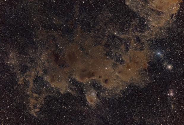 Dust-clouds in Chamaeleon,                                Steffen Boelaars