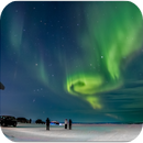 NORTHERN LIGHTS (SAARISELKÄ-FINNISH) -15 Cº,                                Lluis Romero Ventura