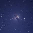 Galáxia Centauro A - NGC 5128,                                Geovandro Nobre